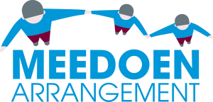 Logo van het meedoenarrangement